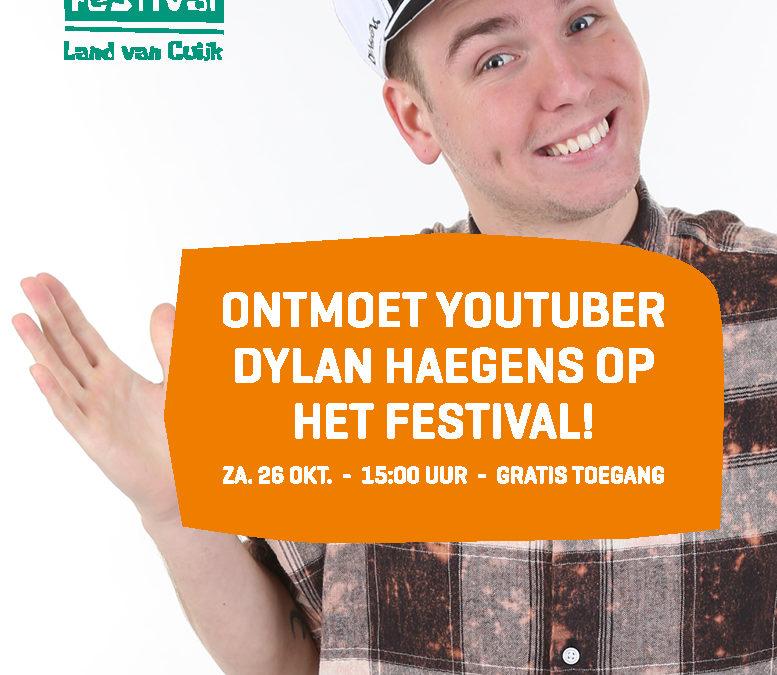 Win Meet & Greet met Dylan Haegens op Lifestyle Festival