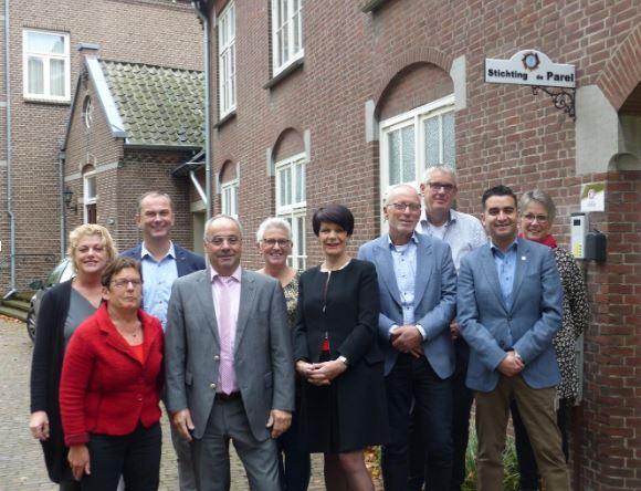 De vijf gemeenten in het Land van Cuijk zijn ' in voor mantelzorg'