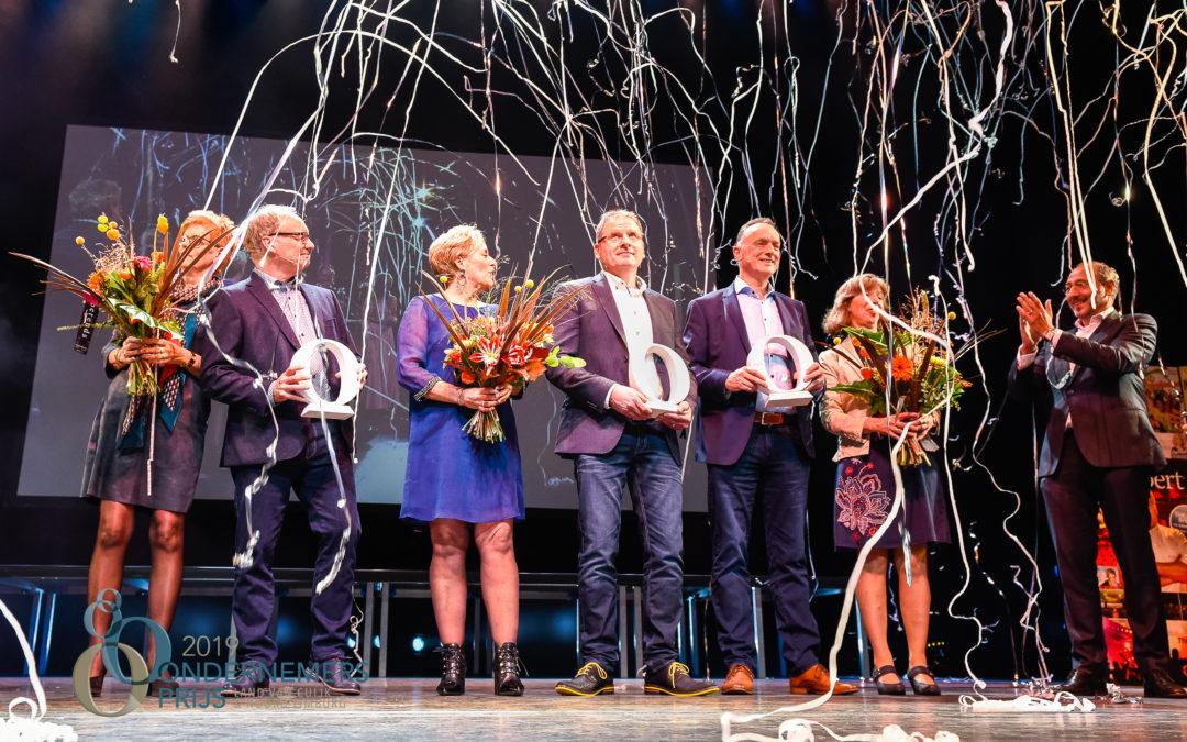 Stephan Hamers wint de Ondernemersprijs Land van Cuijk