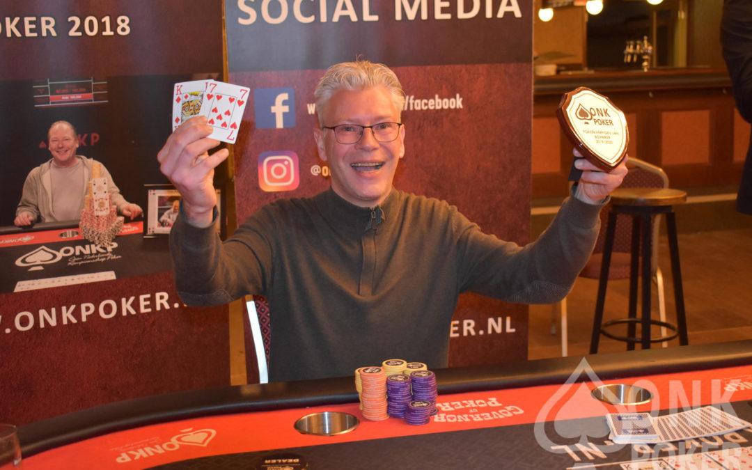 Bas Kersten is Pokerkampioen van Boxmeer