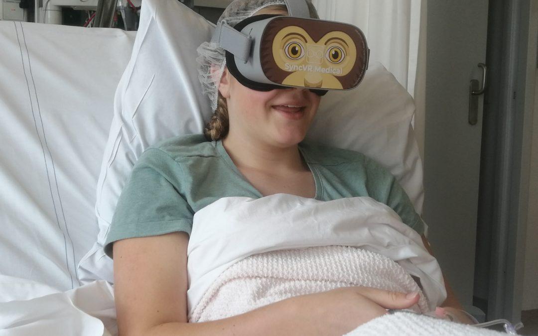 VR-bril voor kinderen tegen angst en pijn